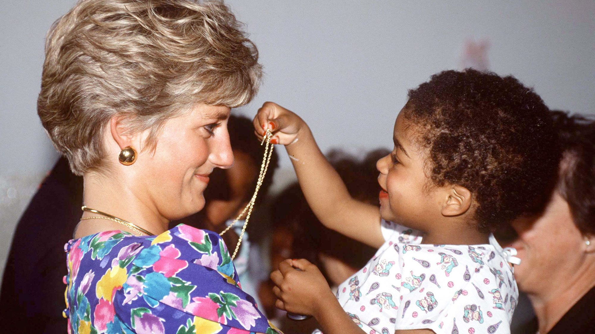 Princess Diana rewore this dress for the kindest reason