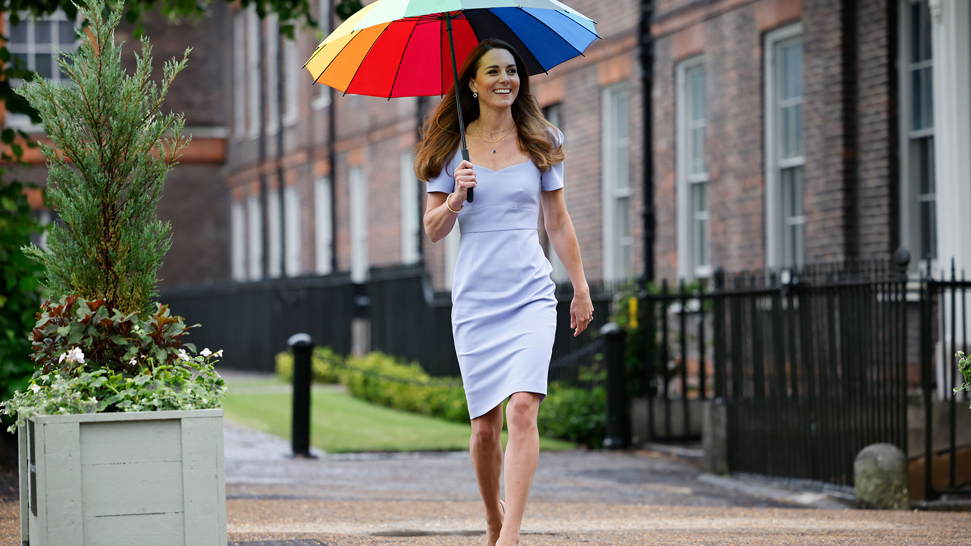 Kate Middleton often wears this colour for this reason